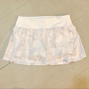 White Lululemon Skirt